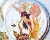 Tooth Fairy Box with poem. Bird Fairy or Trinket/pill box.