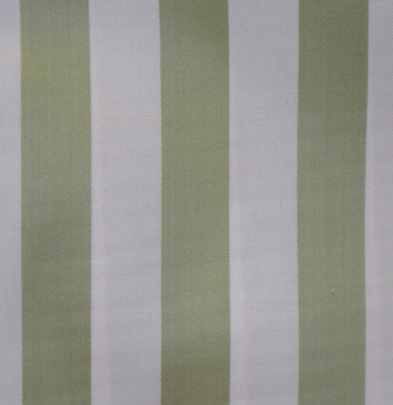 Awning Fabric By The Yard : Items similar to destash half yard green and white