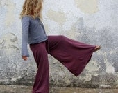ORGANIC Girls - Wanderer Pant - ( light hemp Knit ) -  organic kids clothing