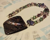 Swarovski Crystal and Mother of Pearl Necklace