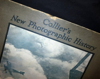1919 Collier's New Photographic History Book