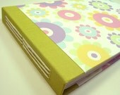 Personalized Baby Shower Guest Book // Pastel Flowers