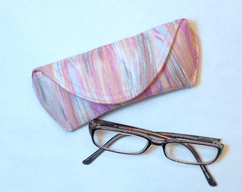 Eyeglass Case or Sunglass Case - Faux Finish