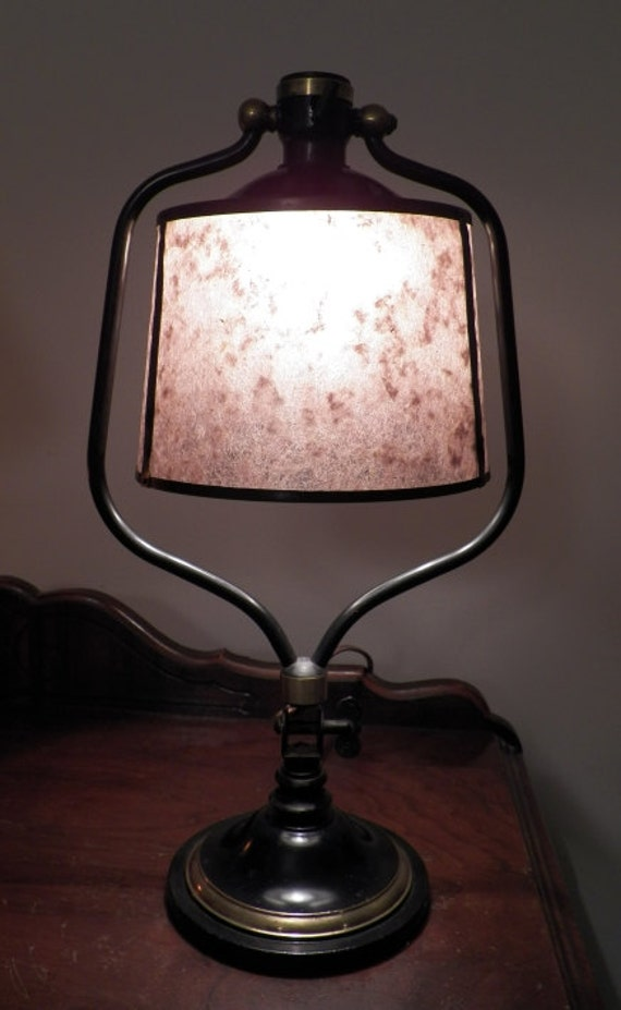 Antique Vintage 1930 S Library Desk Table Lamp Bryant By