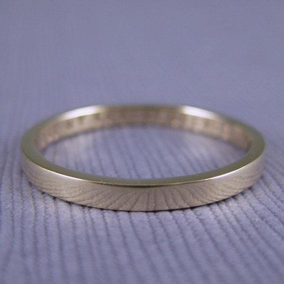 Engraved gold ring, solid 14k or 10k gold, custom gold band, 2mm, gold poesy ring, personalized gold ring, keepsake gold, custom gold ring,