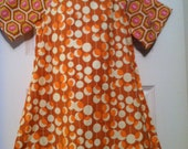 Rust Midwest Modern Peasant Dress in Size 5