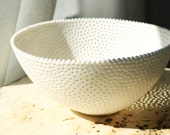 RESERVED FOR BHANU Raw Porcelain Berry Bowl