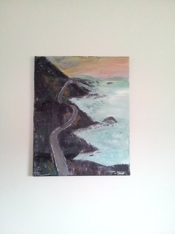 Coastal Glory Original Art on Canvas