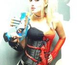 COSPLAY COSTUME Harley Quinn as Worn by Naomi Kyle by Janice Louise Miller