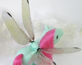 Glitter Dragonfly Wings for My Little Pony Flutter Pony