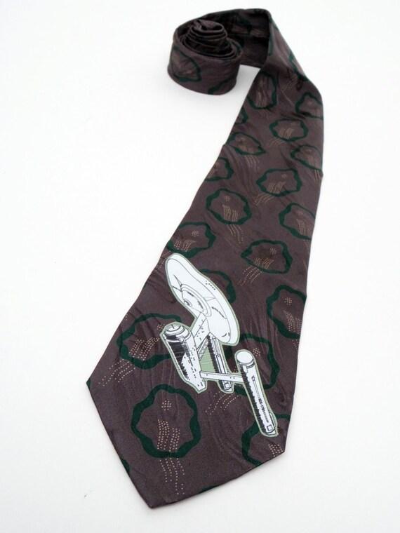 Enterprise (star trek) Old Style Necktie
