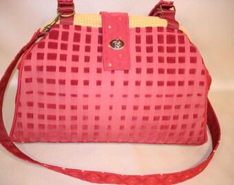 Bella Knitting/Crochet Tapestry Handbag-CONFETTI