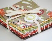 Tilly organic cotton fabric by Daisy Janie - FAT QUARTER BUNDLE