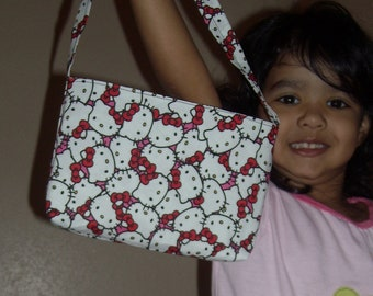 Hello Kitty toddler purse