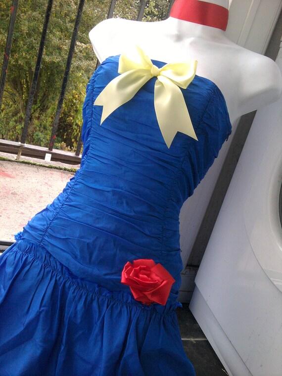 Items similar to comic con SNOW WHITE dress christmas prom dress ...