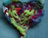 Heart felt brooch