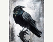 ON SALE The Guardian - 8x10 Raven print