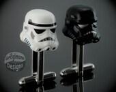 LEGO Star Wars Storm & Shadow Trooper Helmet Cufflinks
