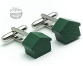 Cufflinks - Monopoly Houses