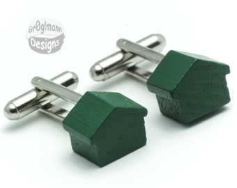 Cufflinks - Monopoly Houses