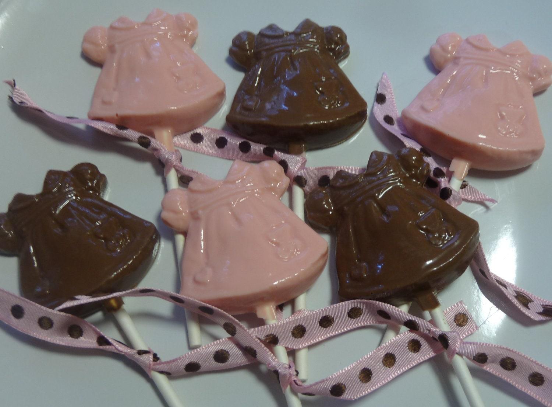 24 Chocolate Baby Girl Dress Baby Shower Christening