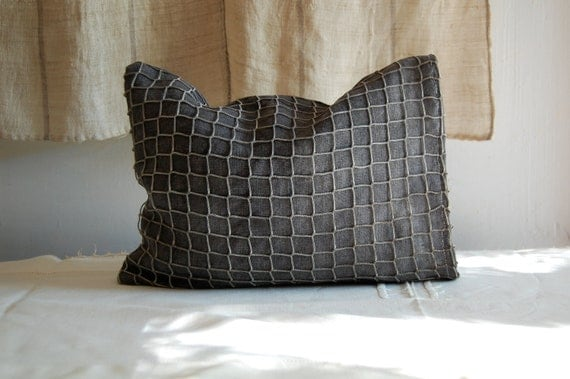 galaxy lavender  fisherman's pillow