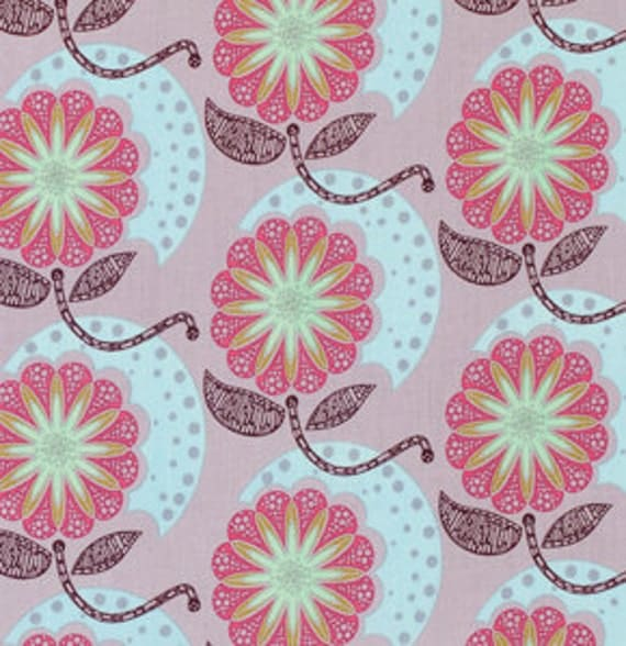 SALE Field Study Fabric by Anna Maria Horner for Free Spirit, Cell Structure in Lilac-1 Yard or by the yard