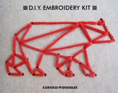 DIY Embroidery Kit: In The Woods - Set of Two