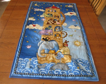 Noah's Ark Wall Hanging for Baby or Toddler