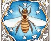 """Blessed Bee  5"""" x 7""""  print by Danielle Barlow"""