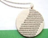 Mathematical Genius Necklace