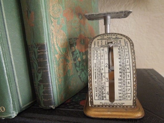 Antique Victorian Postage Letter Scale
