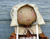 CF187 Blessed are the Turkeys - PDF ePattern Cloth Doll Pattern Thanksgiving, Turkey, Pilgrim