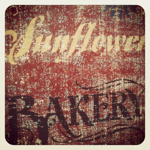 Distressed Decor,Gift,Farmhouse ,Reclaimed wood,Painted wood sign,Kitchen Art,Bakery, Old Sign, Vintage,Coffee Sign, Home Decor