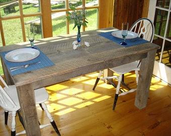 """Farmhouse Dining Room Table (50"""" x 27"""" x 29""""H)"""
