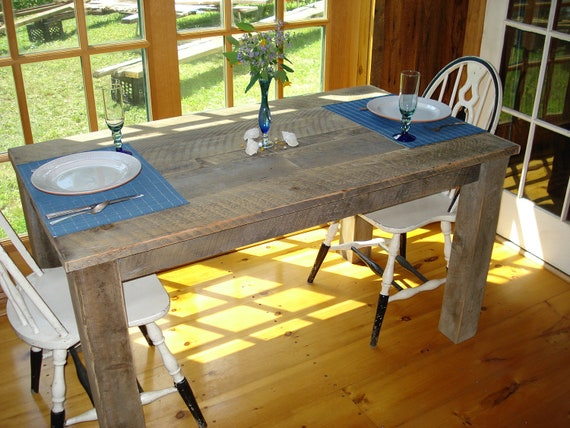 items similar to farmhouse dining room table 48 x 30 x