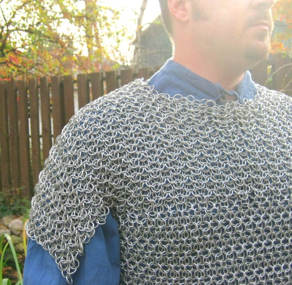 Chainmaille Elfweave Etched Aluminum Shirt