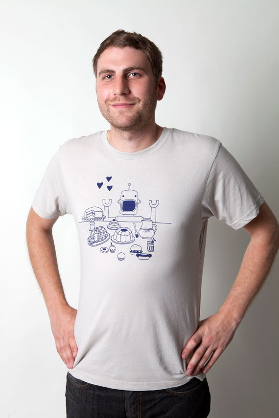 SALE Men's Robot Tee