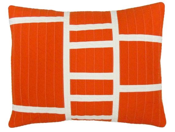 Modern Lumbar Pillow : Graphic modern Lumbar Pillow Ladders