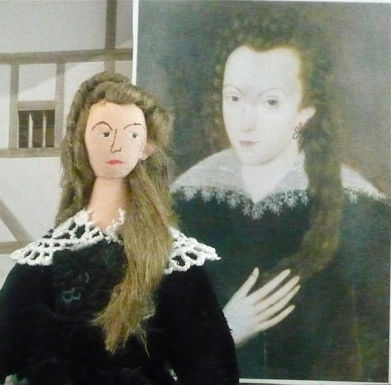 Art Doll Anne Hathaway Wife Of Shakespeare By UneekDollDesigns
