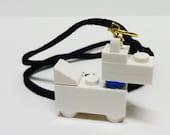 Mini White Scottie Dog Necklace