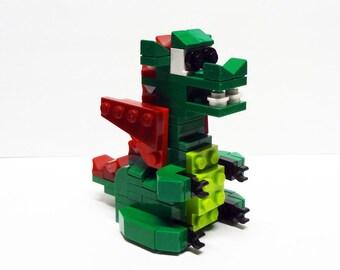 Custom Green Baby Dragon