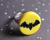 Halloween Bat Ring