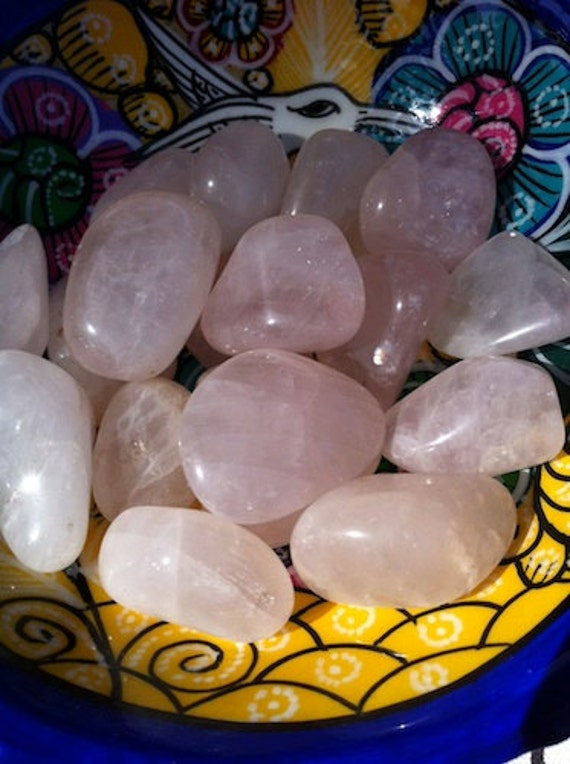 Tumbled Rose Quartz Crystal - Self Love - Compassion - Healing Heart - Acceptance - inner Peace