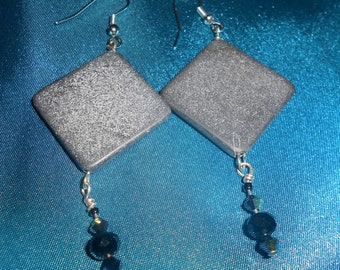 Obsidian Earrings