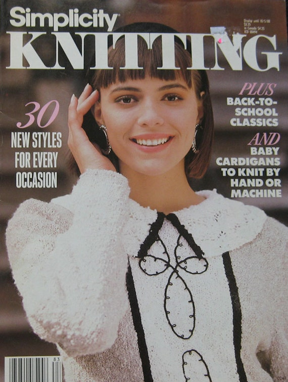 Yours Magazine Knitting Patterns : Simplicity Knitting Pattern Magazine