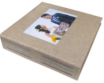 custom photo album (2-up)