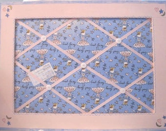 SALE**  Good Fairy Pink and Blue Memo Message Board