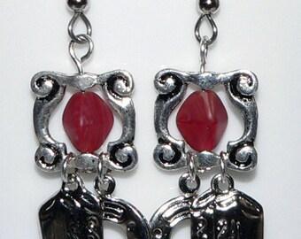 Cowboy Boot Earrings, Horseshoe Earrings, Western Earrings, Southwestern Accessory Jewelry, Dangle Earrings, Drop Earrings