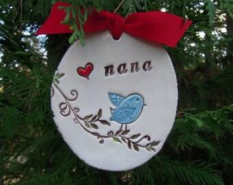 Nana - hanging wall tag